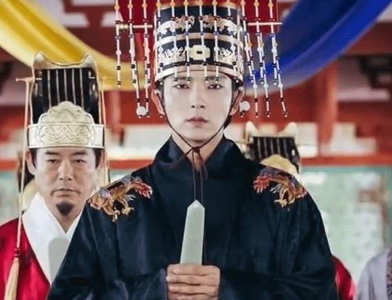 L'Imperatore Splendente nel K Drama Moon Lovers