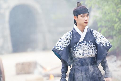 D.O.  nel drama 100 days my prince
