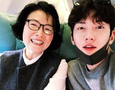 JCW con la mamma