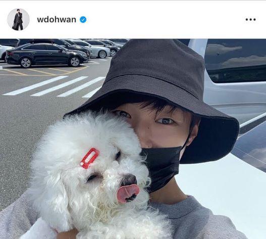 Woo Do-hwan con Yoshi