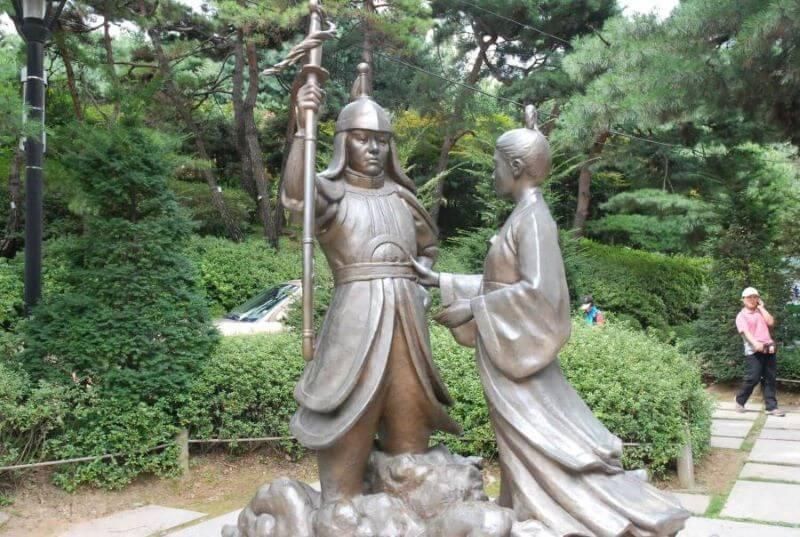 La Principessa Pyeonggang e On Dal l'idiota